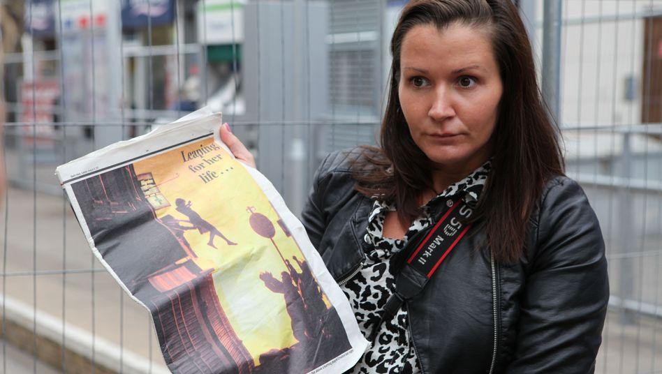 Amy Weston in Croydon: Das Bild ist der Schuss ihres Lebens