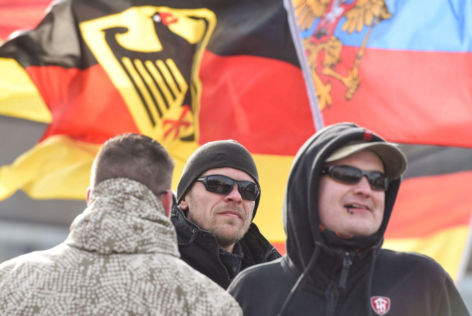 """Hooligan-Aktion """"Gemeinsam-Stark Deutschland"""""""