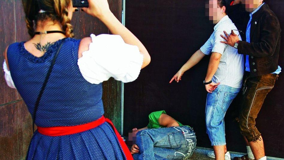 Oktoberfestbesucher 2007: Bald ein Fall für den Staatsanwalt?