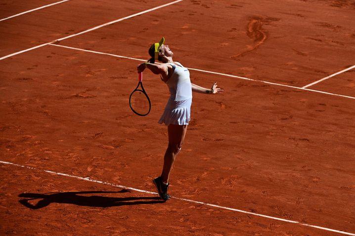 Im 52. Anlauf und mit 29 Jahren erstmals in einem Grand-Slam-Finale: Anastasia Pawljutschenkowa