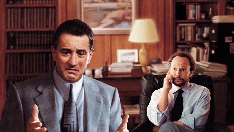 """Szene aus """"Reine Nervensache"""": Geht ein Mafiaboss zum Psychiater..."""