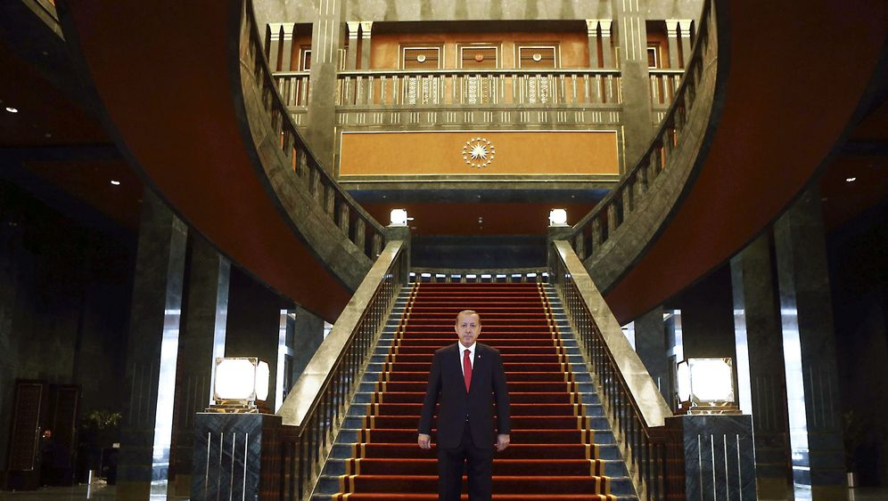 Erdogan-Palast: Prachtbau in Ankara