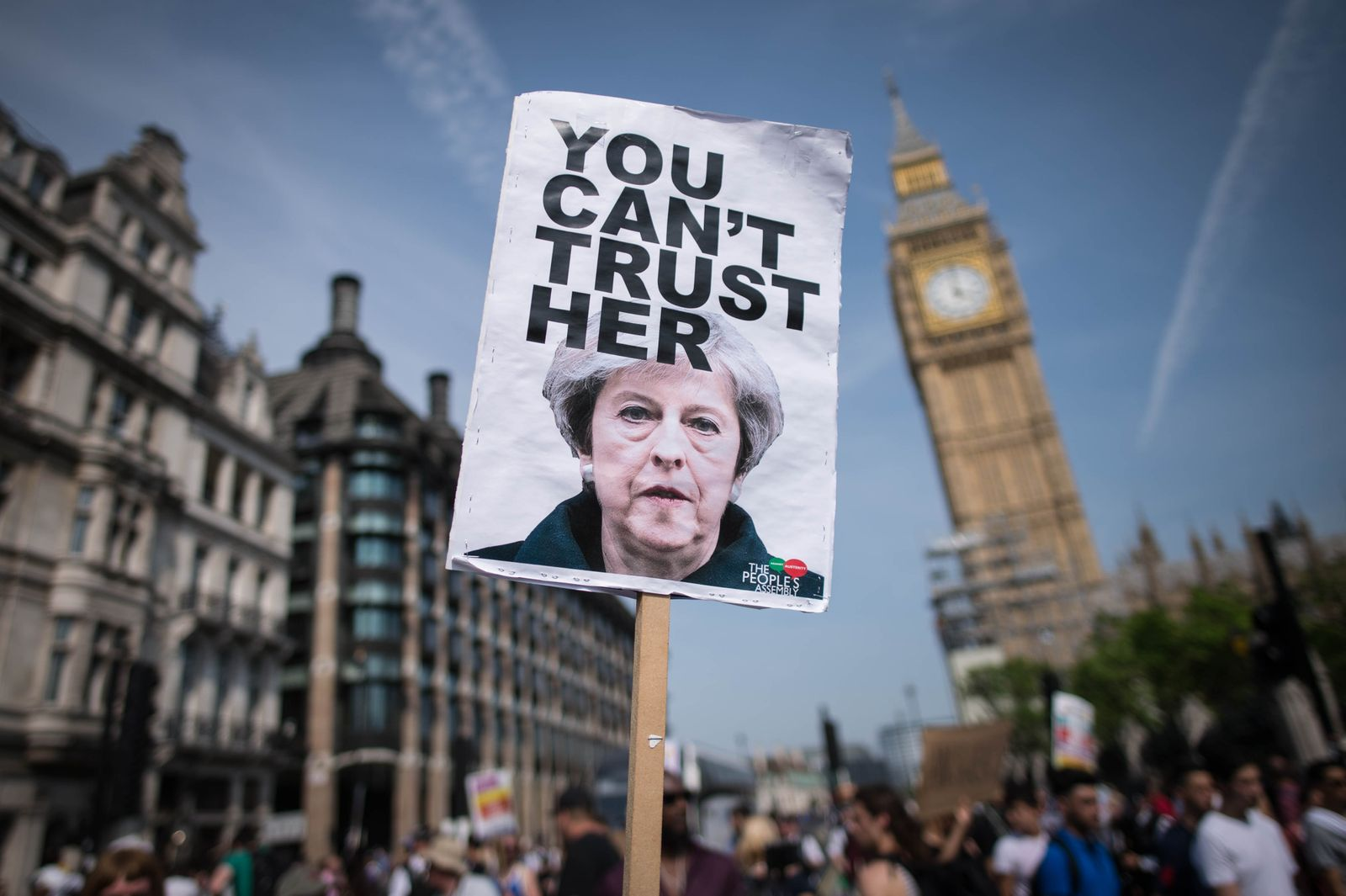 Protest gegen Brexit