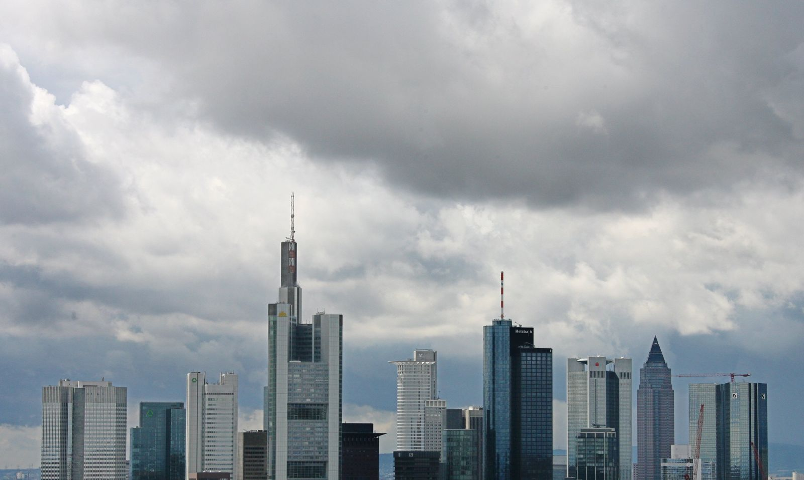 THEMEN Banken / Frankfurt / Skyline