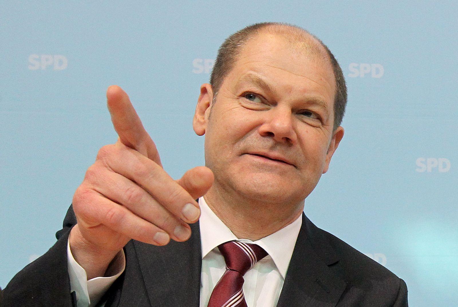 Olaf Scholz, Parteivorstand SPD