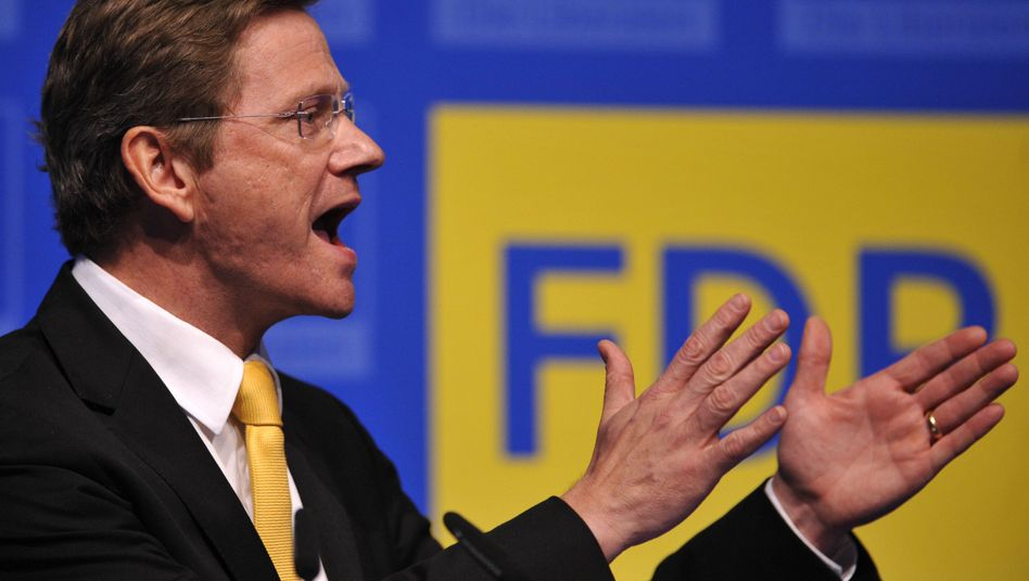 """FDP-Chef Westerwelle: """"Wir müssen die Schwachen auch vor den Faulen schützen"""""""