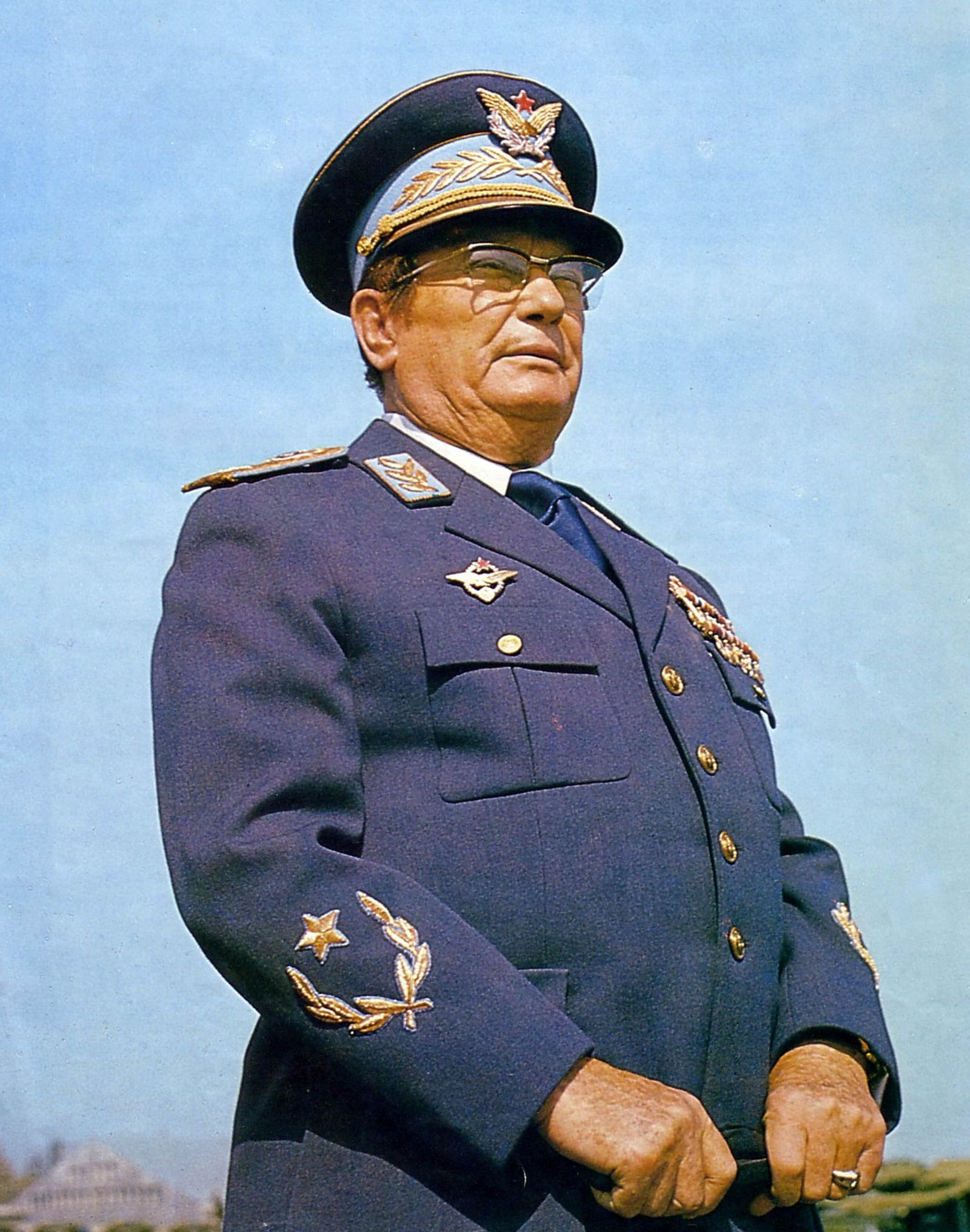 Josip Broz Tito (1892 - 1980) Yugoslav revolutionary and statesman. Secretary-General (later President) of the Communist Party of Yugoslavia (1939-80), led the WWII Yugoslav resistance movement, the Yugoslav Partisans (1941-45). Prime Minister (1945-53) a