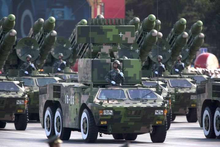 Militärparade in Peking (2009): Machtdemonstration im September