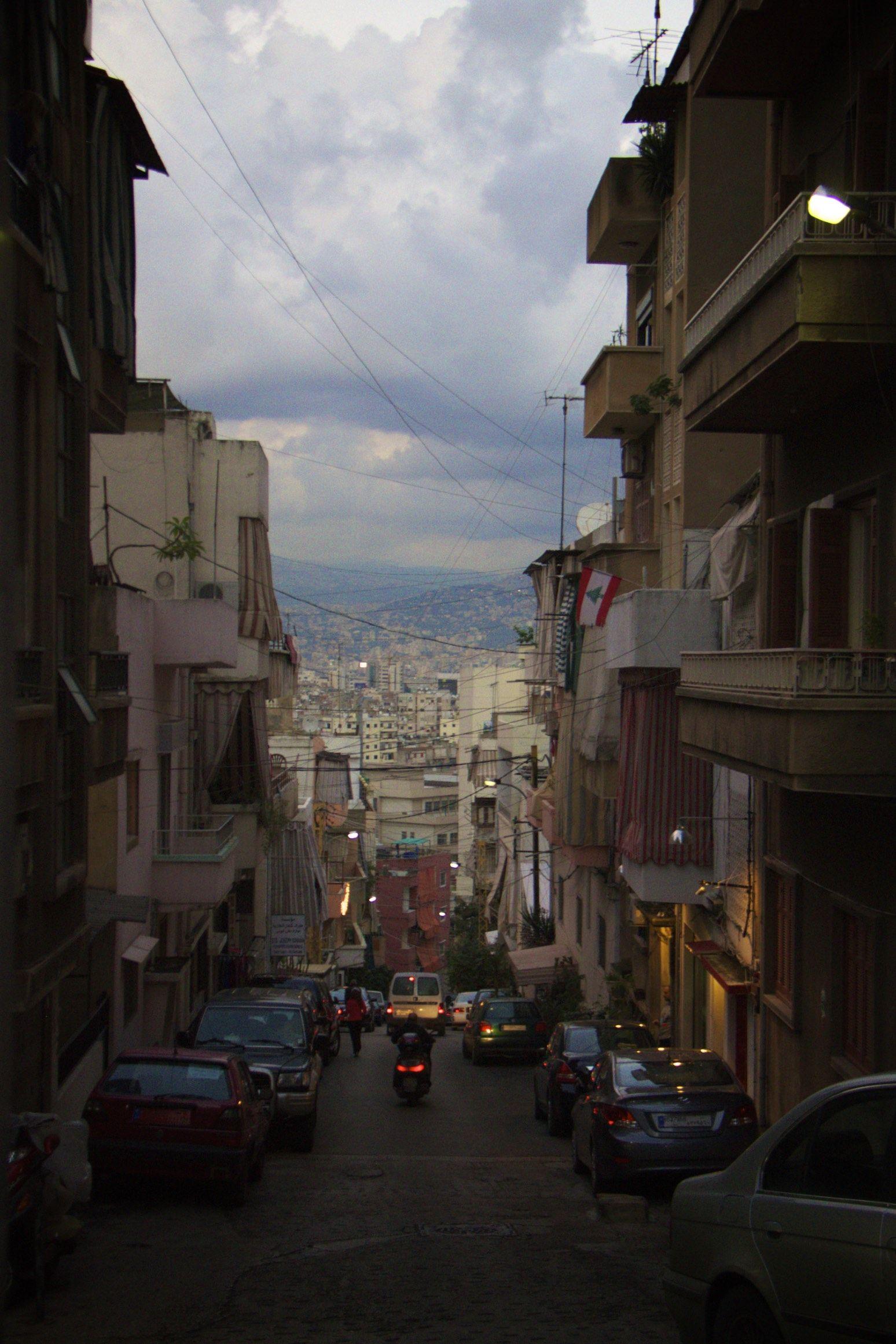 EINMALIGE VERWENDUNG Livia Gerster/ Beirut