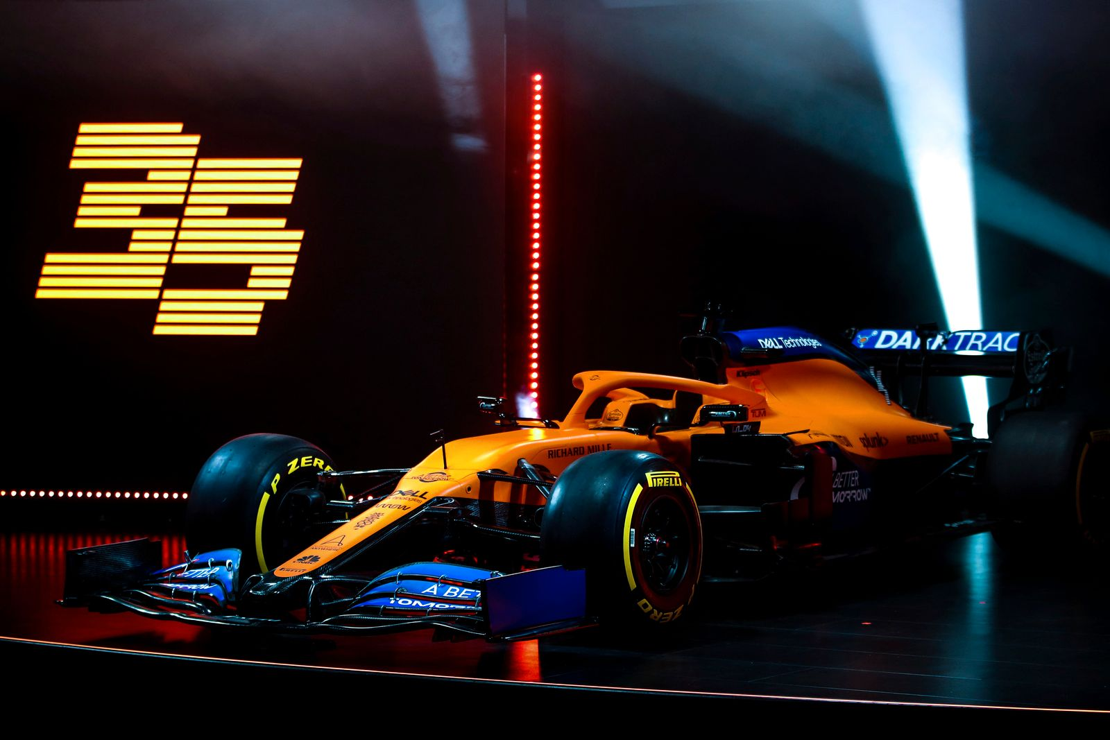 F1 McLaren MCL35 Launch 2020