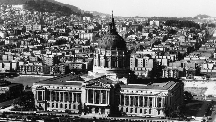 San Francisco: Fundament des Monuments