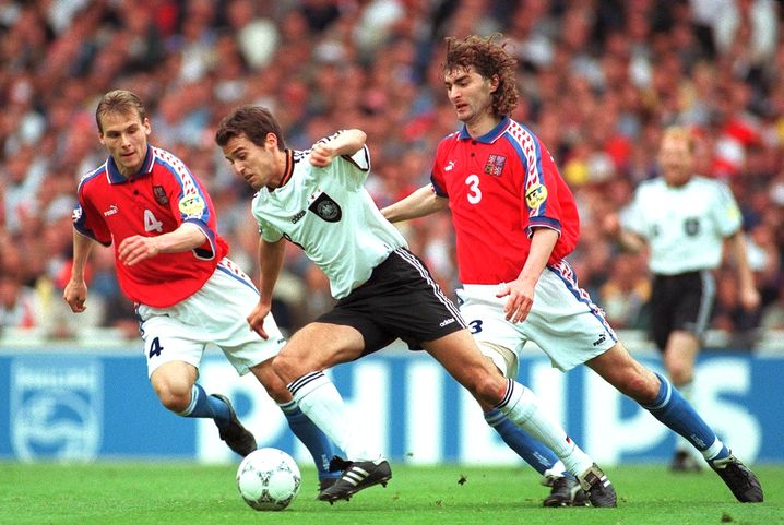 Mehmet Scholl im EM-Finale 1996