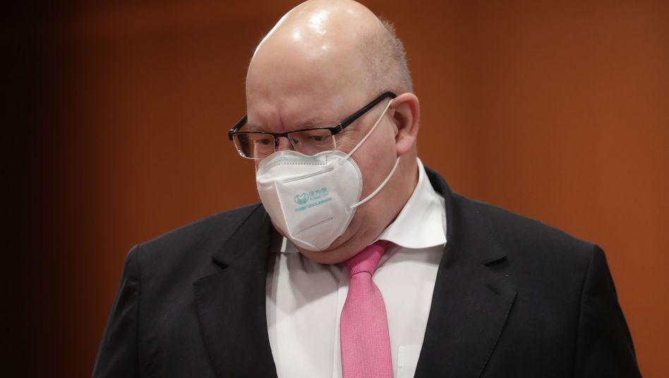 Bundeswirtschaftsminister und Mahner in der Krise: Peter Altmaier