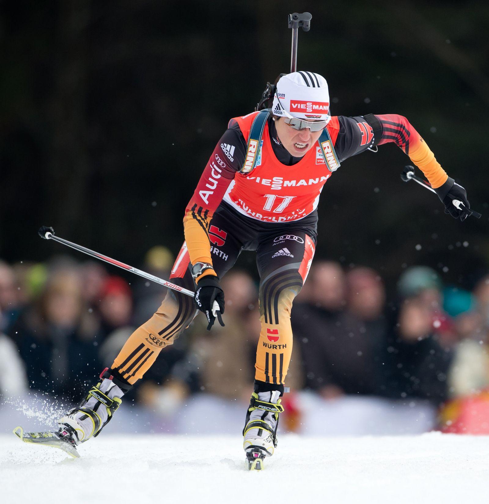 Biathlon-Weltcup Ruhpolding - Verfolgung Damen
