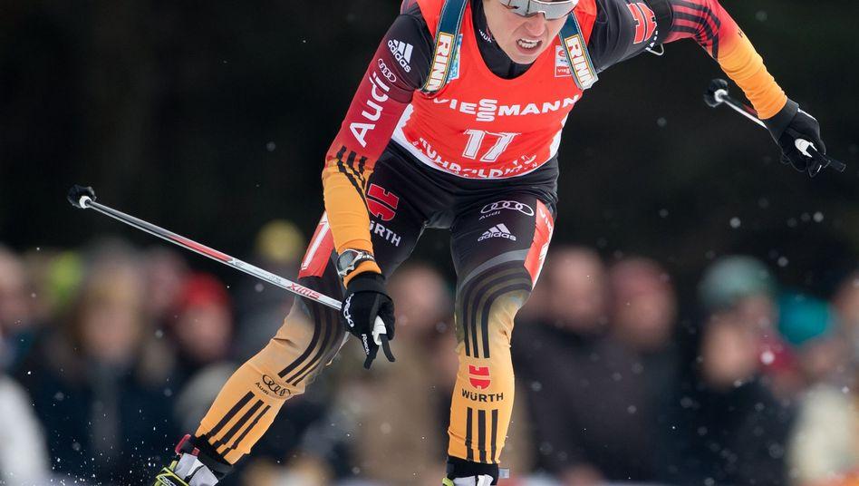 Biathlon-Star Henkel: Nur Bescond war schneller