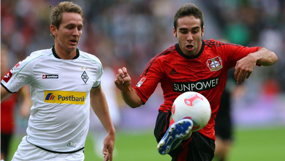 Leverkusen vs. Gladbach: Der Pfosten und ter Stegen retten Gladbach