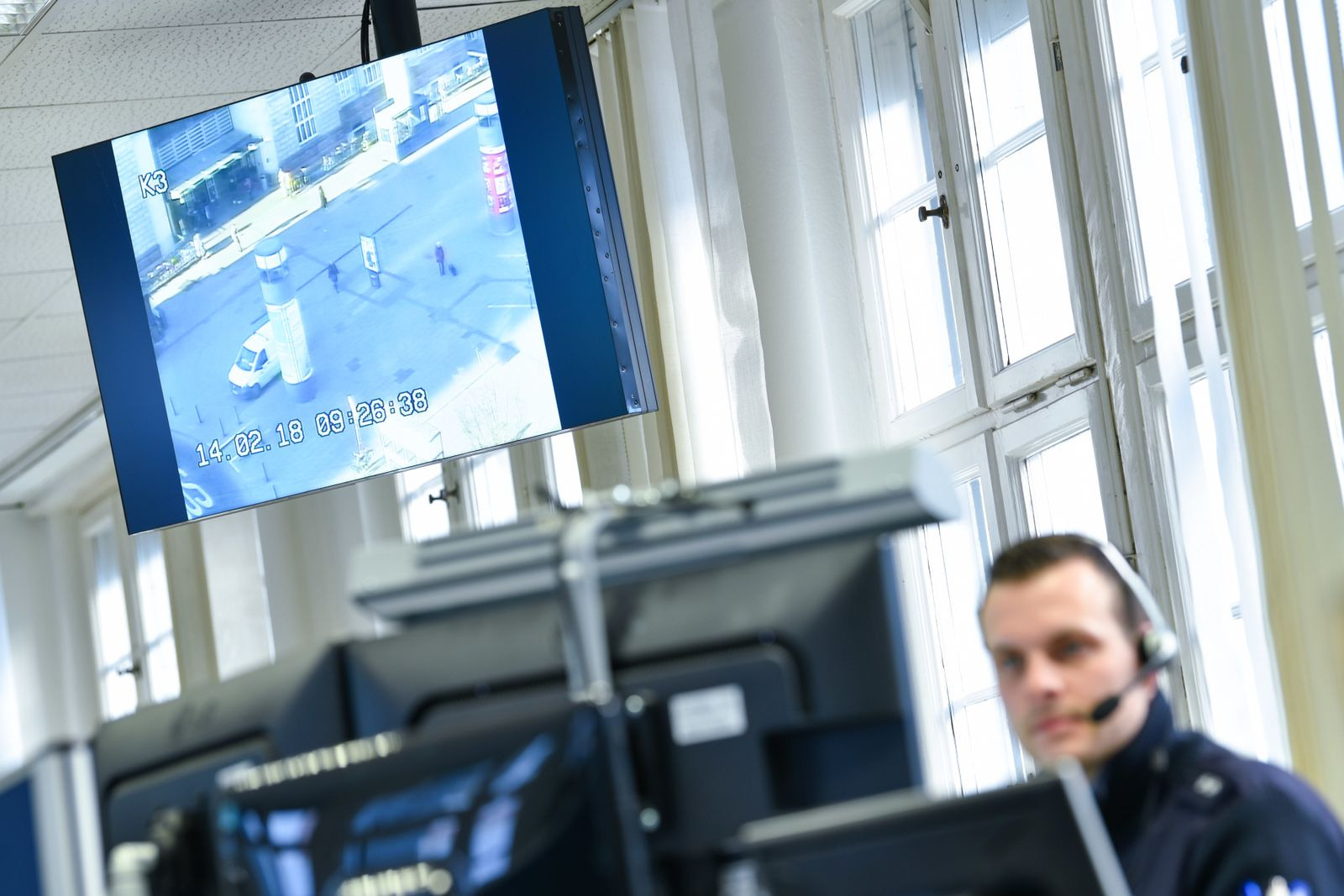 Digital gegen Diebe/ Intelligente Kameras/ / Überwachung/ Polizei Mannheim