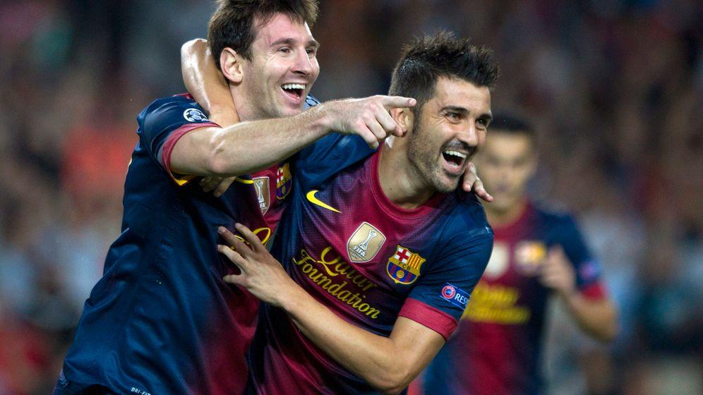 Champions League: Messi und Oscar treffen doppelt