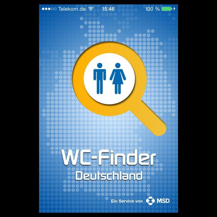 WC-Finder: Wenn es mal dringend ist