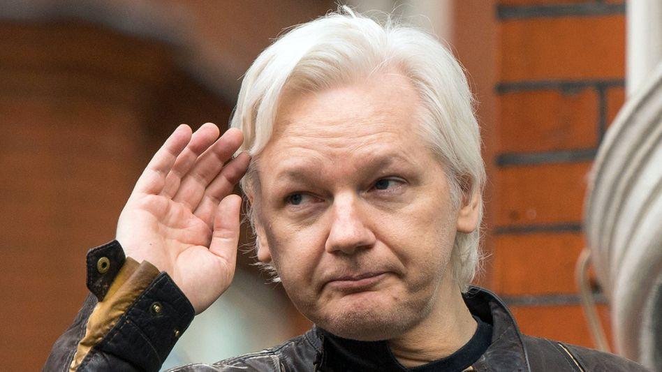 Julian Assange (Archivfoto): Sein Anwalt kündigte Rechtsmittel gegen den Entzug der Staatsbürgerschaft an