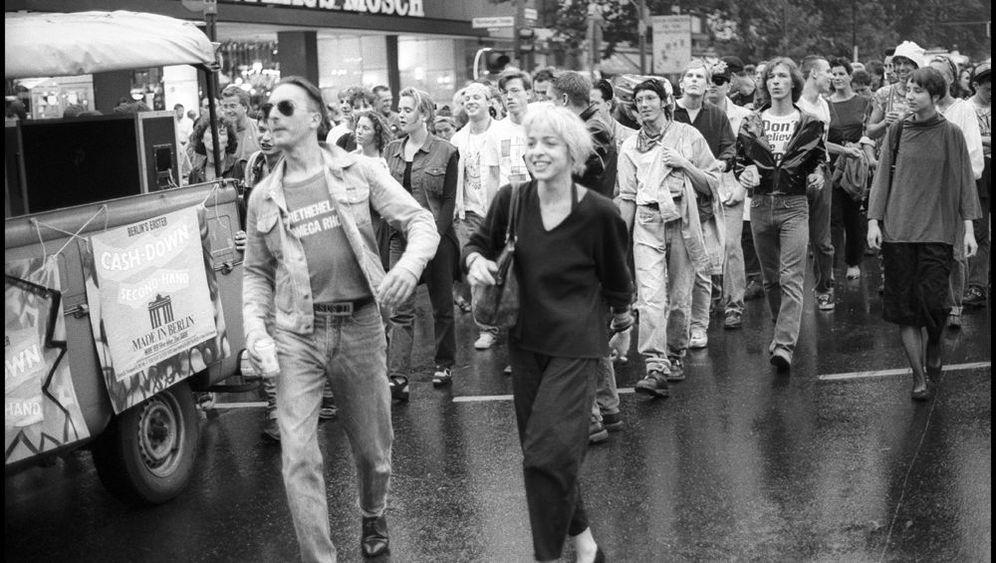 """Demo anmelden - durch die Stadt tanzen: """"Uns war schon bewusst, dass da etwas Großes passiert war"""""""