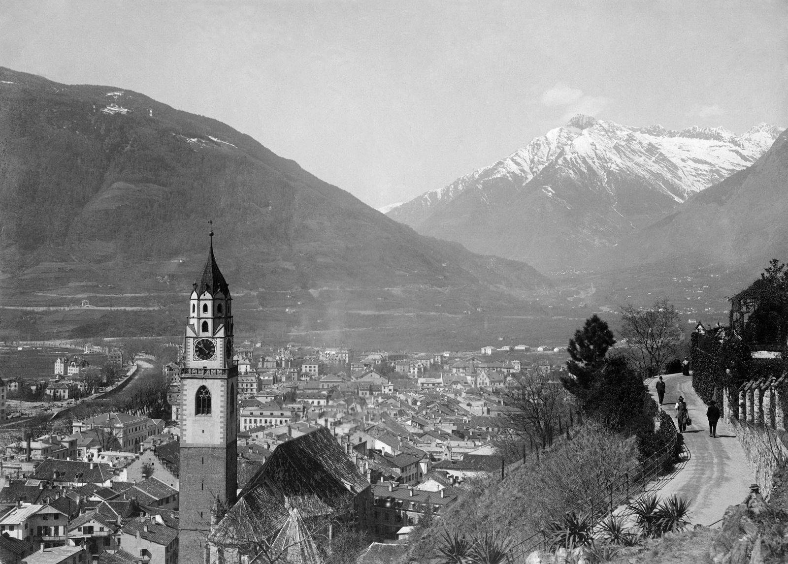 Italien / Geografie: Meran, Tappeinerweg