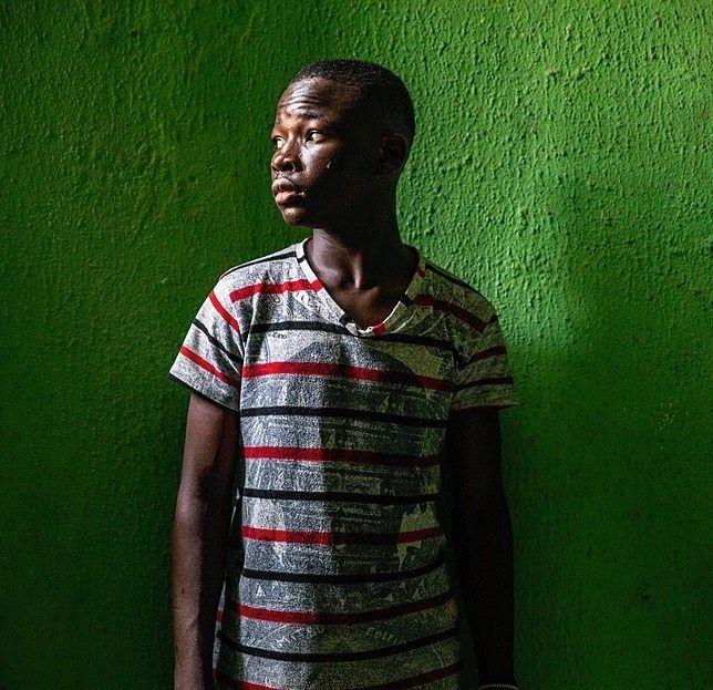 Arbeiter Abiodun: Wert außerhalb des Messbereichs