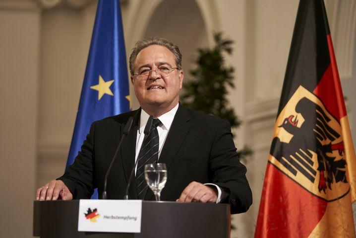 Bundespolizeichef Dieter Romann 2018 in Berlin