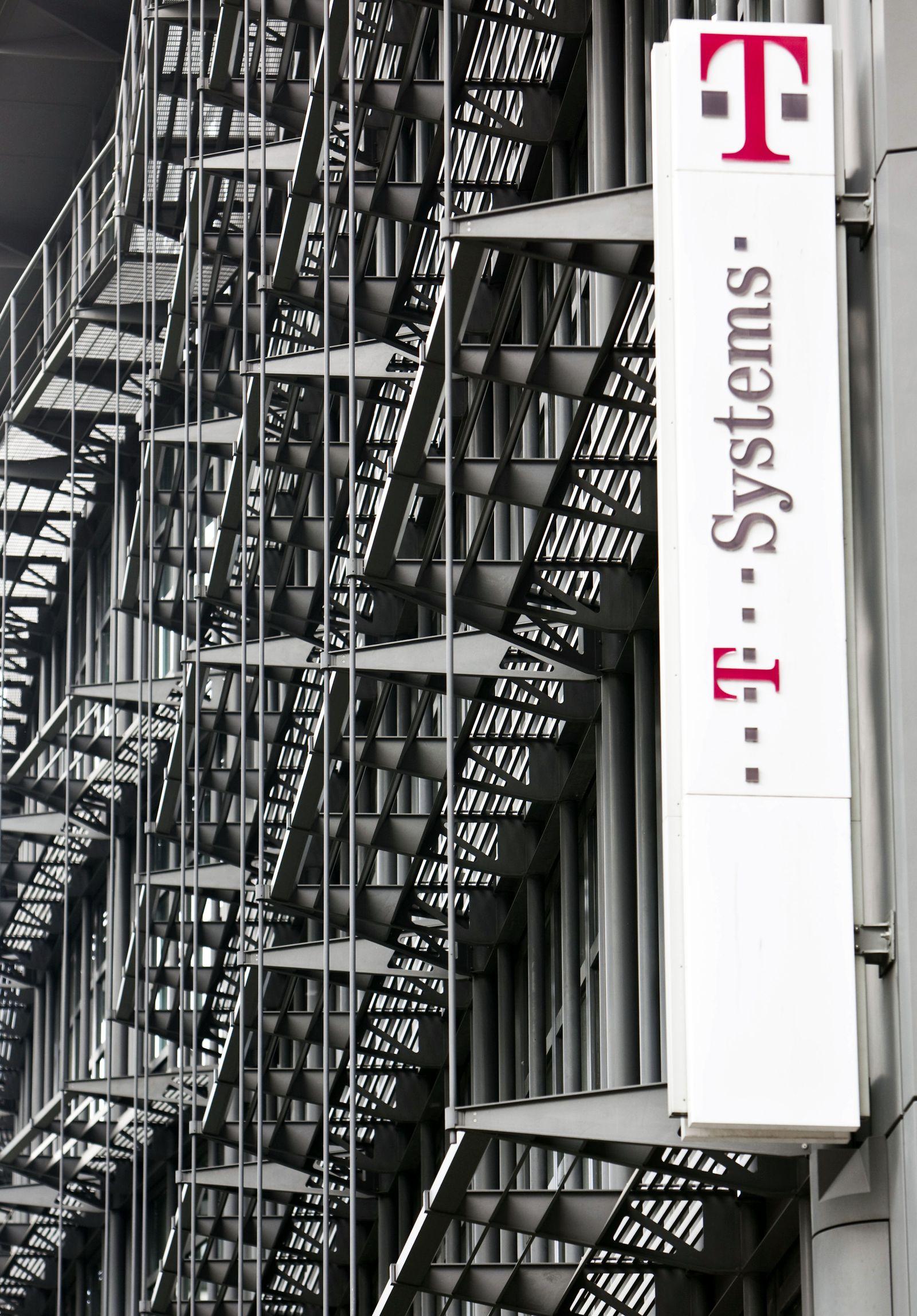 Zentrale von T-Systems in Frankfurt am Main / Telekom