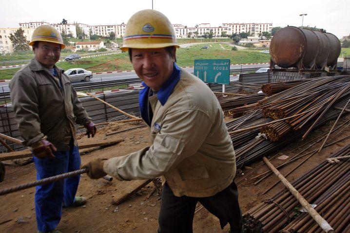 Chinesische Arbeiter in Algerien (2007)