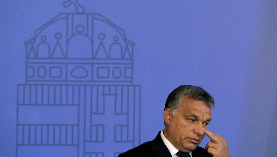 """Victor Orbán: """"Wenn Ungarn bei seiner Ablehnung bleibt, ist es Teil des Problems"""""""