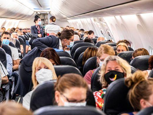 Flugzeugpassagiere (Archivbild)