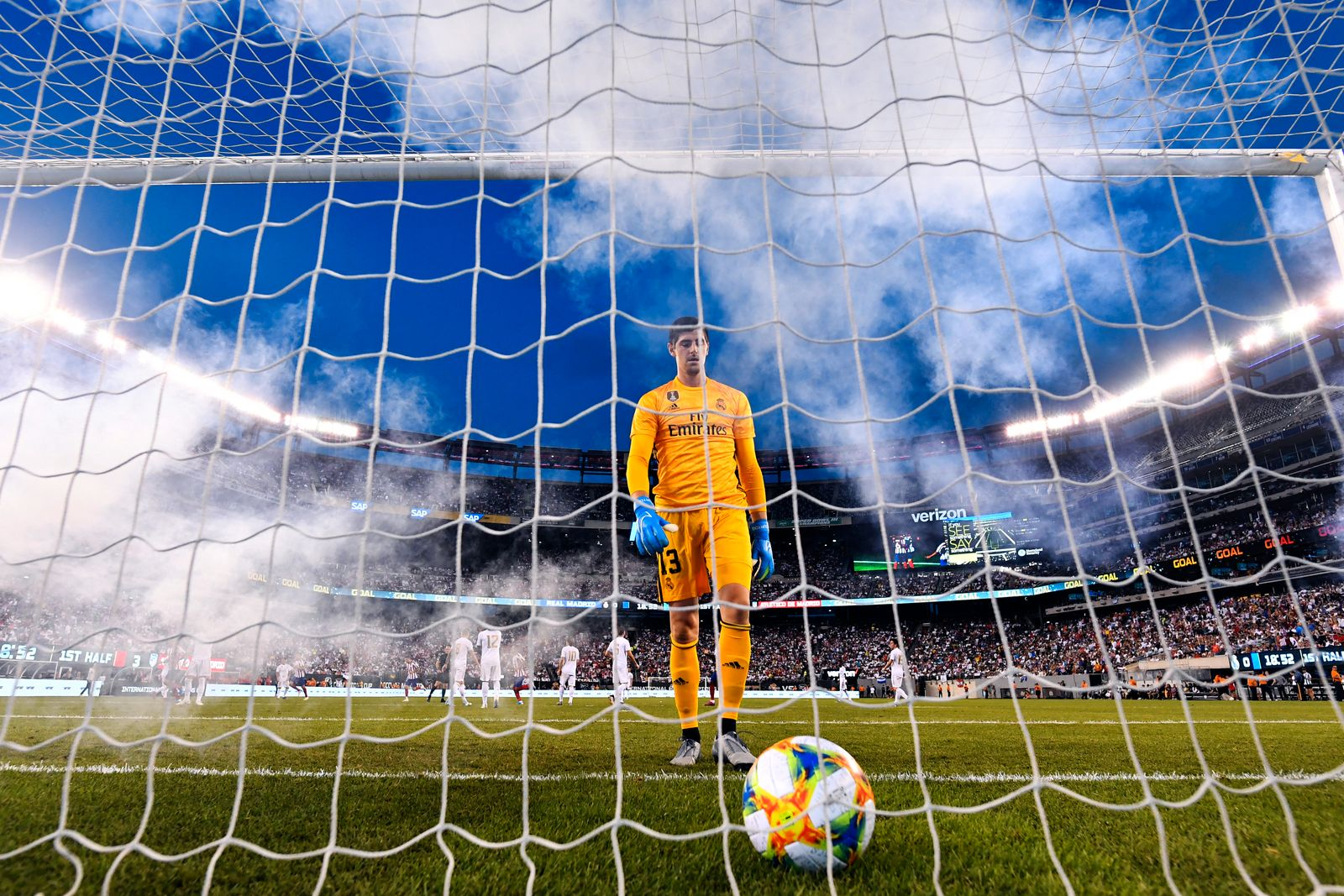 Football - Real Madrid v Atletico de Madrid - 2019 International Champions Cup