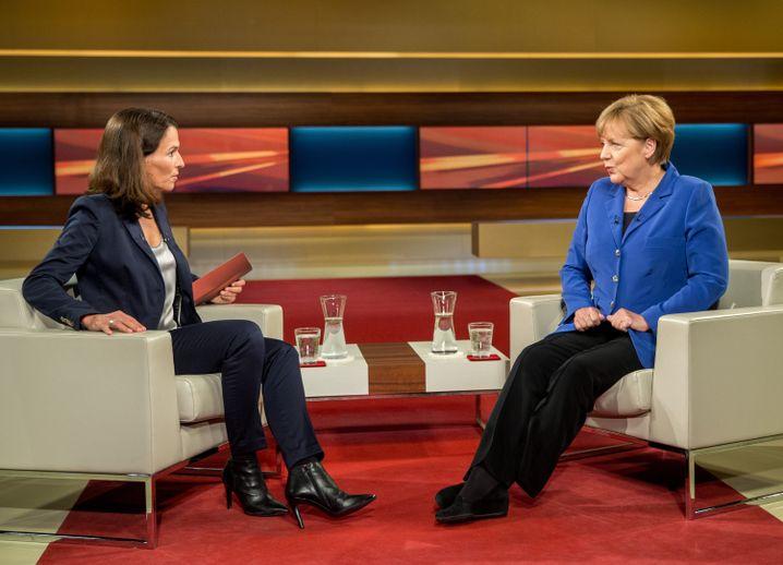 """Kanzlerin Merkel im Studio von Anne Will: """"Jetzt ist die Situation da"""""""