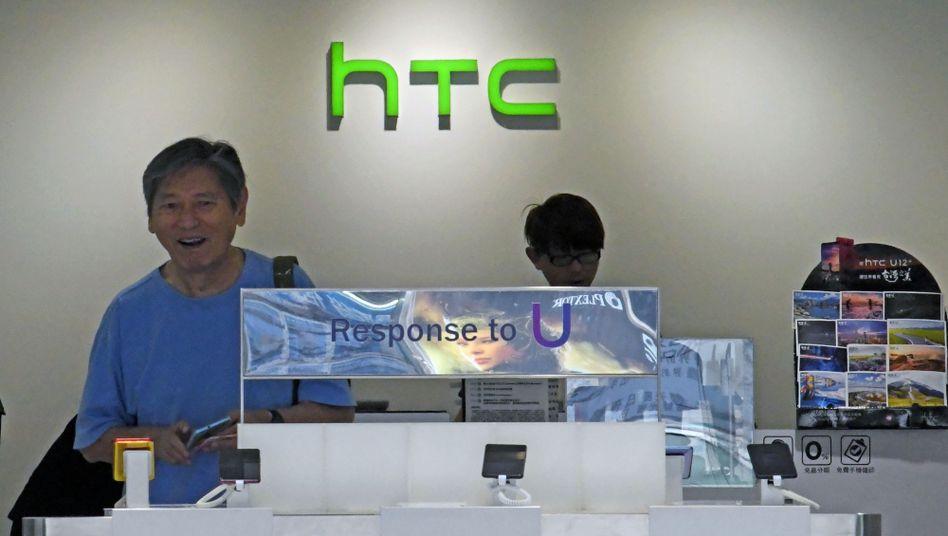 HTC-Geschäft in Taipeh