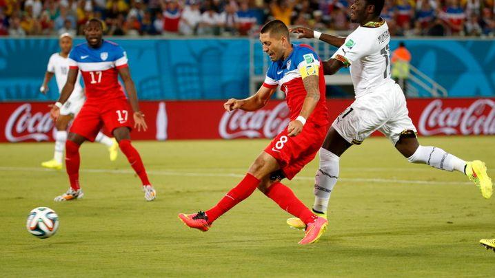 USA gewinnt gegen Ghana: Herthas Brooks trifft zum Sieg