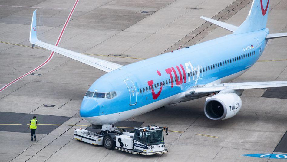 TUI-Flugzeug
