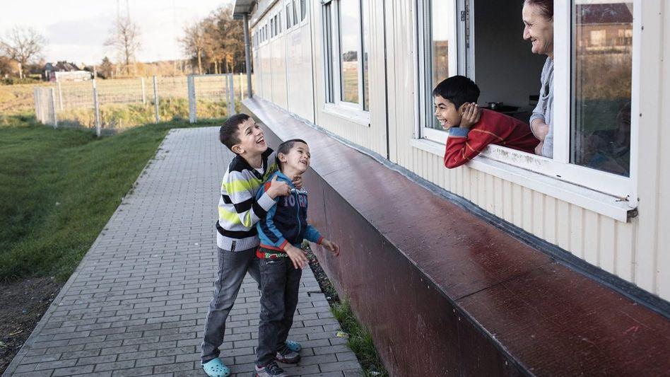 Flüchtlinge in Münster