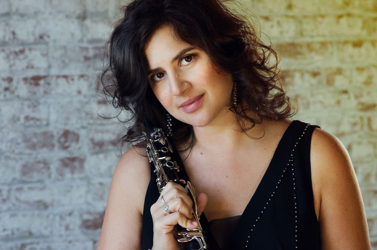 EINMALIGE VERWENDUNG Jazz 31.07.16/ Anat Cohen & Anzic Orchestra: Noir