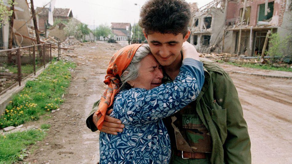 Bosnischer Bürgerkrieg (1993 in Vitez)