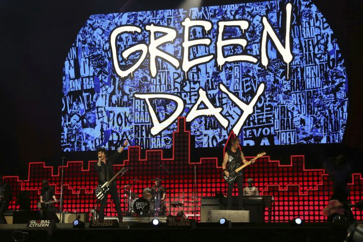 Die Band Green Day