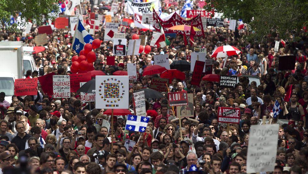 Kanada: Zehntausende demonstrieren gegen Anti-Demo-Gesetz