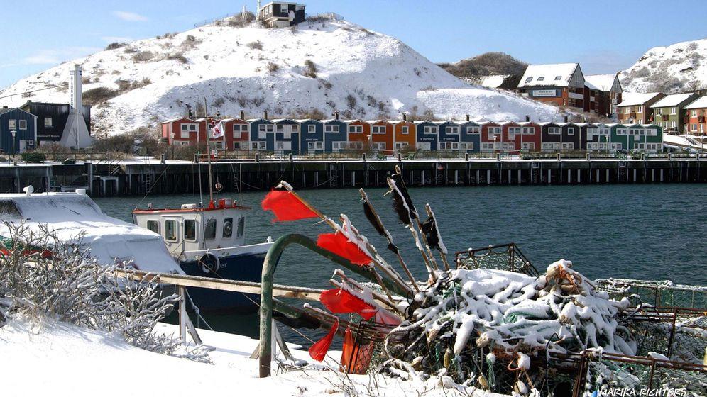 Deutsche Inseln im Winter: Strände, Stürme, herrliche Stille