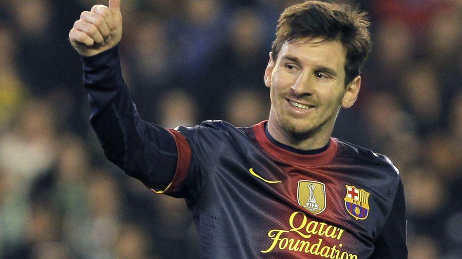 Superstar Messi: Bis 2018 beim FC Barcelona