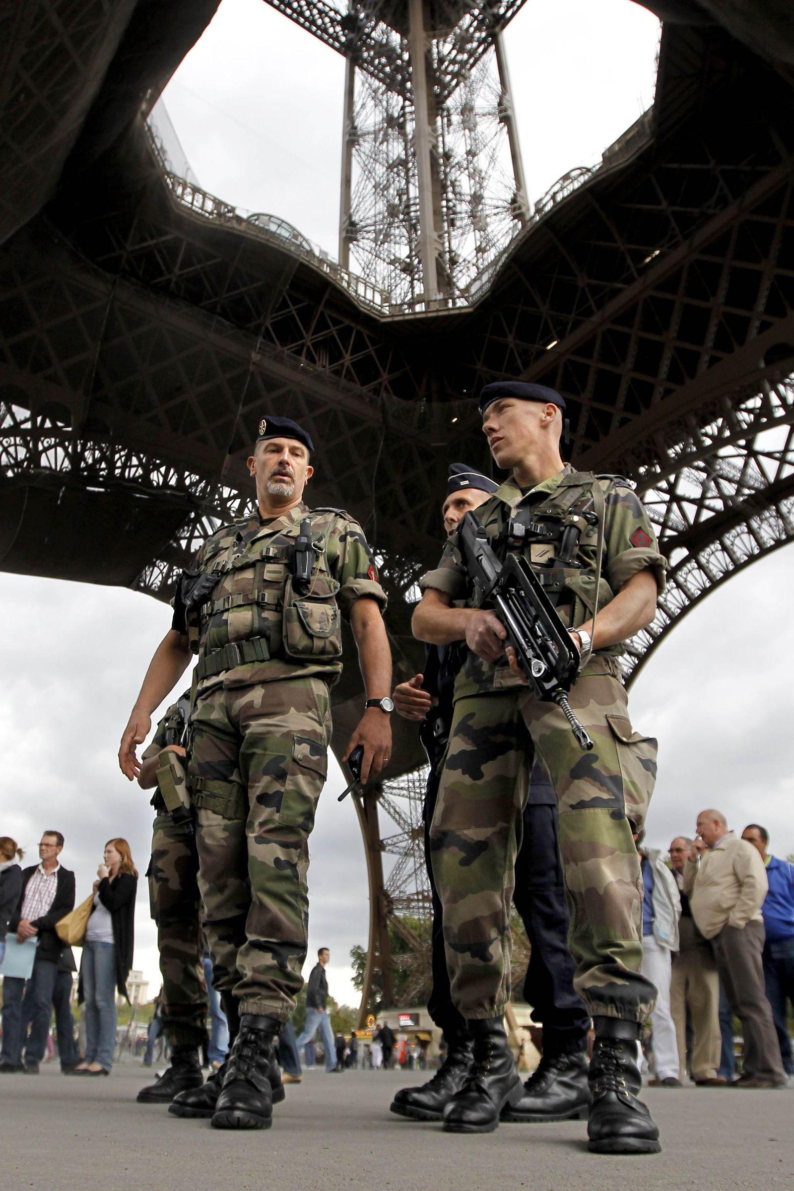 Eiffelturm / Sicherheit