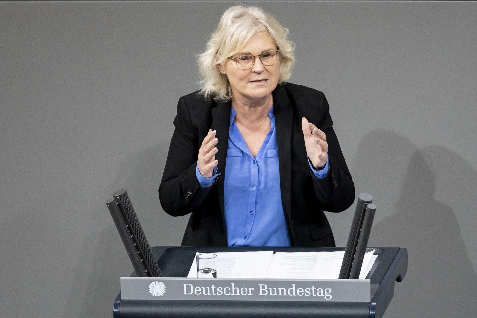 EINMALIGE VERWENDUNG Christine Lambrecht