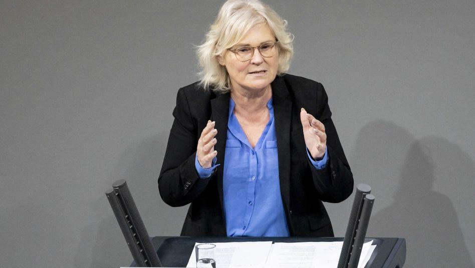 Vom Finanz- ins Justizministerium: Christine Lambrecht (SPD)