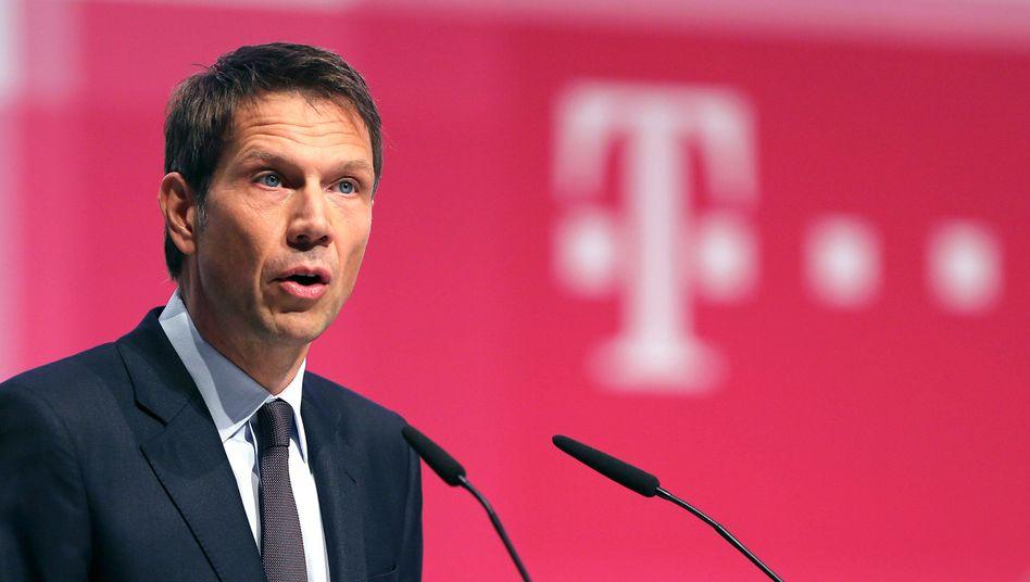 Deutsche Telekom chairman and CEO Rene Obermann
