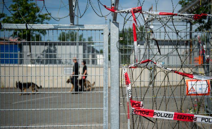 G20-Gefangenensammelstelle in Hamburg