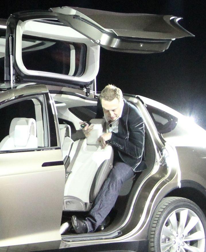 Beim Model X passt nicht alles optimal